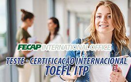 FECAP - TOEFL | Já pensou em certificação internacional?