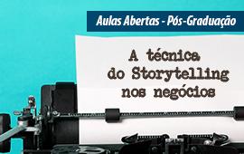 FECAP - A técnica do Storytelling nos negócios | Aula Aberta